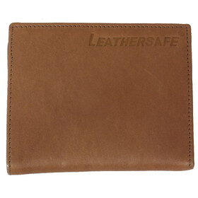 Leathersafe Purse Wallet beige/brown